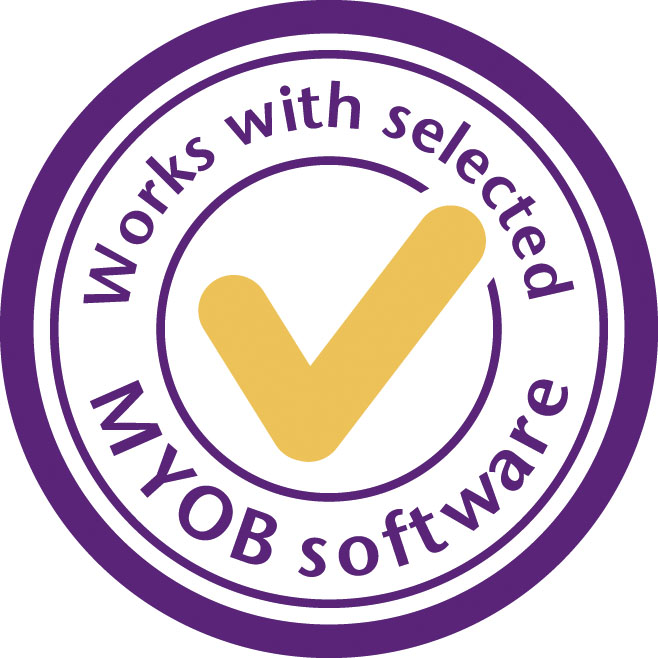 <H1> Works with MYOB</H1>